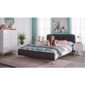 Buttons Queen Bedroom Package With Toto Tallboy