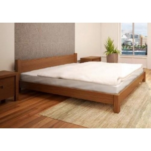 Louise custom timber low bed frame