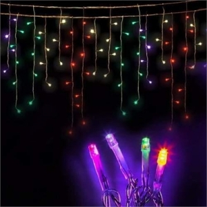 500 LED Solar Powered Christmas Lights 20M Multiple Colour