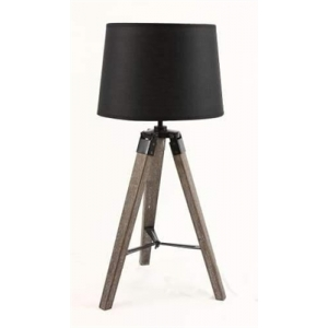 Nicki Classic Tripod Table Lamp - Black