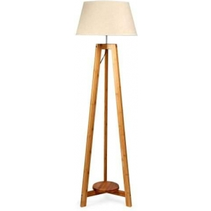 Diogo Classic Tripod Floor Lamp - Natural