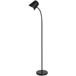 Peggy Flexible Reading Floor Lamp - Black