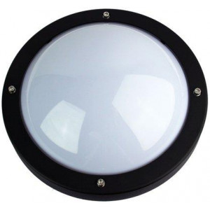 Primo Exterior Bulkhead Light Black