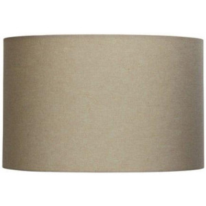40cm Lamp Drum Shade - Canvas Burlap