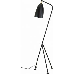 Replica Greta Grossman Grasshopper Floor Lamp - black