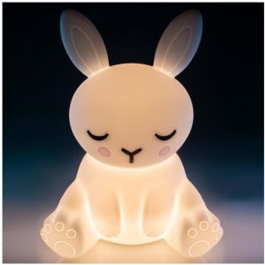 Touch-Sensitive Rechargeable LED Night Light Lamp - Bunny