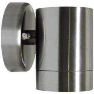 Riva Exterior Wall Light Down 1Lt in Stainless Steel