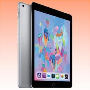 New Apple Ipad (9.7) 32GB 4G (2018) Tablet Space Grey (FREE INSURANCE + 1 YEAR AUSTRALIAN WARRANTY)