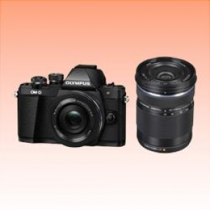 New Olympus E-M10 III TwinKit (14-42 EZ)(40-150) Digital Cameras Black (FREE INSURANCE + 1 YEAR AUSTRALIAN WARRANTY)