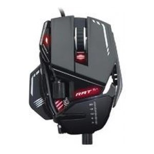 Mad Catz R.A.T. 8+ Optical Gaming Mouse - Black