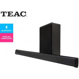 TEAC 2.1-Channel Soundbar w/ Wireless Subwoofer - Black