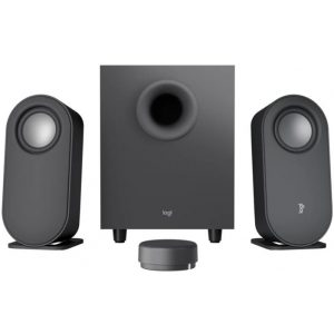 Logitech Z407 Bluetooth Computer Speakers with Subwoofer - GRAPHITE